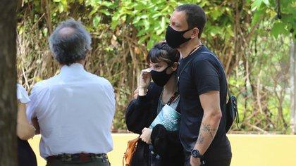 Nico Vázquez acompañó a su mujer en todo momento y la sostuvo en los más momentos que más lo necesitó