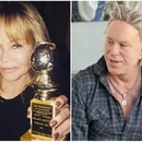 Melanie Griffith y Mickey Rourke están irreconocibles (Instagram y The Grosby Group)