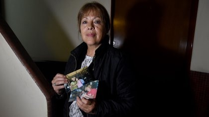 Cristina Álvarez, la madre del músico le va a llevar una torta (Nicolás Stulberg)