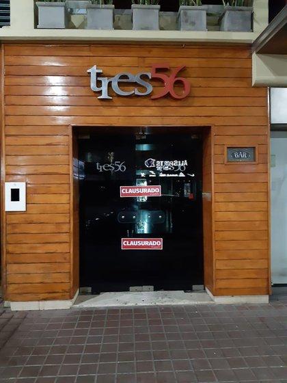 Finalmente, el local Tres56 fue clausurado por las autoridades.