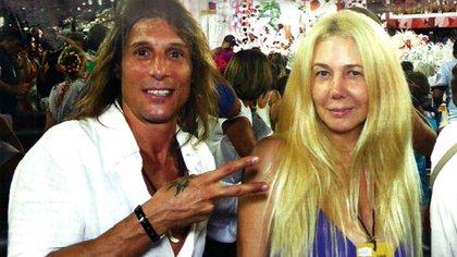 Claudio Paul Caniggia y Mariana Nannis