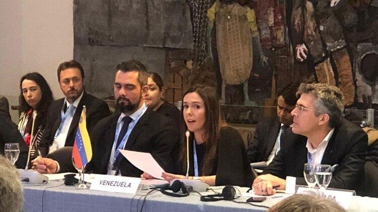 Elisa Trotta, representante del gobierno interino de Juan Guaidó en Argentina