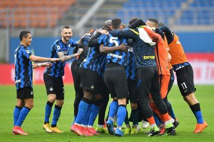 El Inter es el único puntero de la Serie A, a cuatro puntos de su inmediato perseguidor (Reuters)