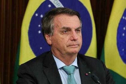 Jair Bolsonaro participó de la Cumbre del Clima (Marcos Correa/Presidencia de la República vía REUTERS)