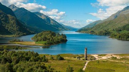 El lago Shiel, cerca de Fort William en las Highlands escocesas, es el telón de fondo de muchos momentos de Hogwarts