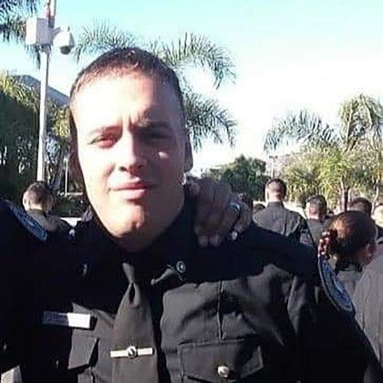 Esteban Lagos, el oficial asesinado