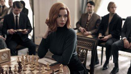 """""""Gambito de dama"""", la serie de Netflix más vista a nivel mundial"""