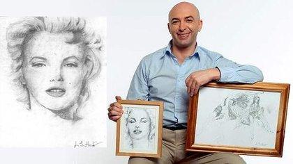Lee Hadwin es un artista británico que crea increíbles obras de arte pero únicamente puede hacerlo en estado de sonambulismo