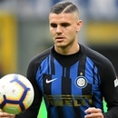 Soccer Football - Serie A - Inter Milan v Atalanta - San Siro, Milan, Italy - April 7, 2019 Inter Milan's Mauro Icardi in action REUTERS/Daniele Mascolo