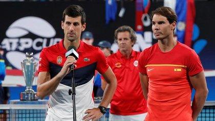 Djokovic y Nadal dirán presente en el Masters de Cincinnati, previo al Abierto de Estados Unidos (REUTERS/Ciro De Luca)