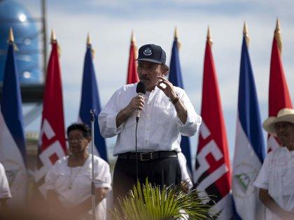 El presidente de Nicaragua, Daniel Ortega. EFE/Jorge Torres/Archivo