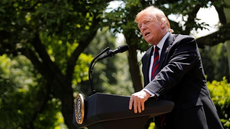 Trump señaló que hará su anuncio este jueves por la tarde o a más tardar el viernes(Foto: Carlos Barria/ Reuters)