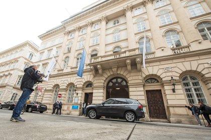 Palacete de la capital austriaca en el que se celebran las conversaciones sobre desarme nuclear entre Rusia y EEUU. EFE/EPA/CHRISTIAN BRUNA