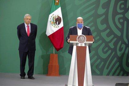 Alfaro había anunciado una nueva etapa de no confrontación con el gobierno de López Obrador. (Foto: Cortesía Presidencia)