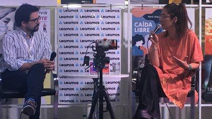 Florencia Etcheves en Leamos (Foto: Mariana Kozodij)