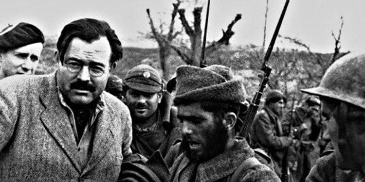 Hemingway, como corresponsal en la Guerra Civil Española