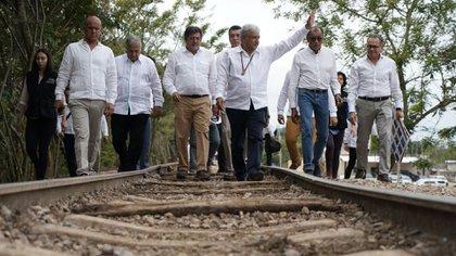 AMLO asegura que el Tren Maya potenciará turismo, trabajo y bienestar (Foto: lopezobrador.org.mx)