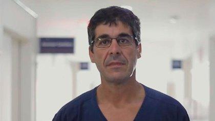 Luciano es kinesiólogo y el responsable del área de rehabilitación del Centro Médico Integral Fitz Roy