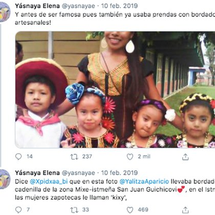 Antes de ser actriz, Yalitza impartía clases de preescolar (Foto: Twitter)