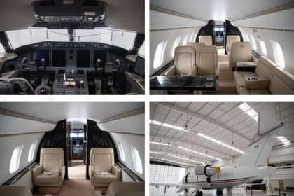 La aeronave actualmente está a la venta por el Gobierno Federal Foto: (Secretaría de Gobernación)