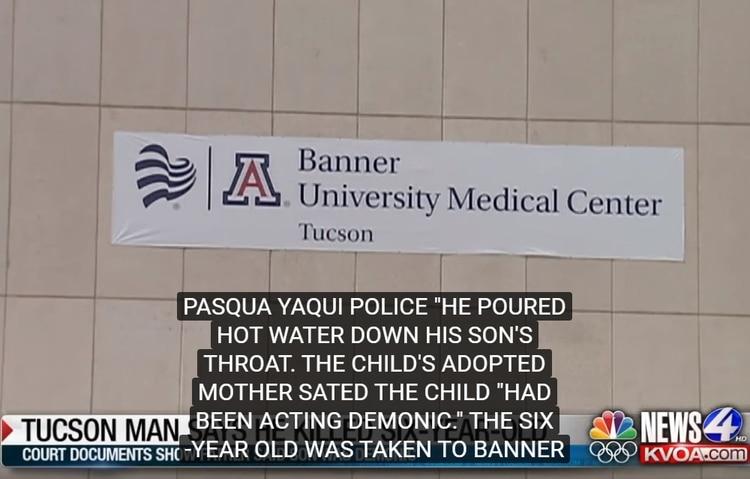 El hospital al que fue trasladado el menor de edad (Foto: Captura de pantalla de YouTube)
