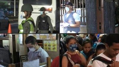 """Calles vacías: Caracas se despertó el lunes en """"cuarentena colectiva"""" luego de que el presidente venezolano Nicolás Maduro ordenó a sus seis millones de habitantes a quedarse en sus casas para frenar la propagación del coronavirus en el país, que ya registra 17 casos."""
