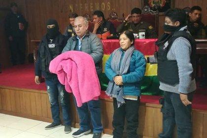 María Eugenia Choque Quispe, ex presidenta del Tribunal Superior Electoral de Bolivia (Foto gentileza diario El Deber)