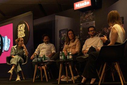 Las conversaciones tuvieron lugar un día antes de la ceremonia de entrega de premios y el anuncio de los 50 mejores restaurantes de América Latina