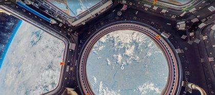 Imagen del interior de la Estación Espacial Internacional (Foto: Captura de Street View)