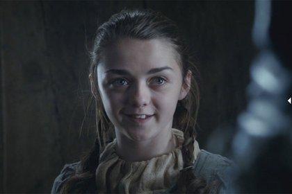 """¿Compro?"", preguntó en Twitter la actriz que interpretó a Arya Stark en ""Game of Thrones"""