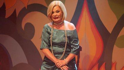 Marta González vuelve a los escenarios (Verónica Guerman / Teleshow)