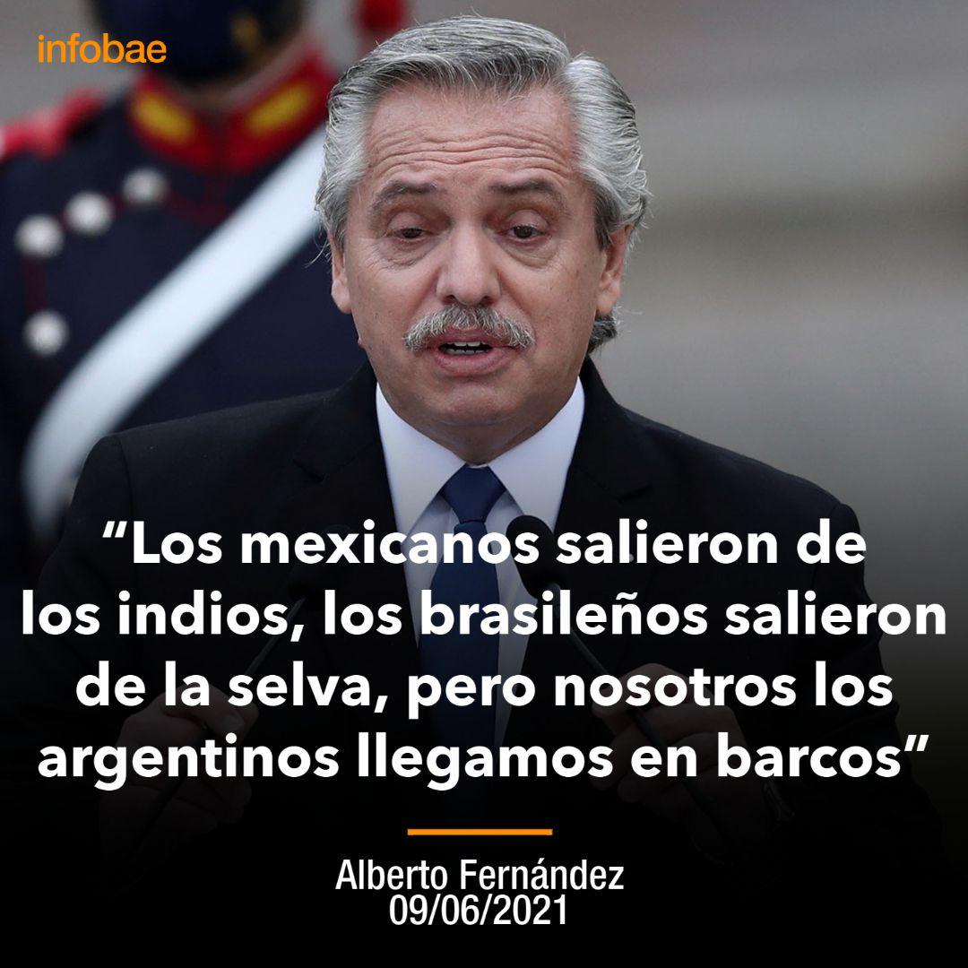 Alberto Fernández - Placa - Mexicanos Brasileños