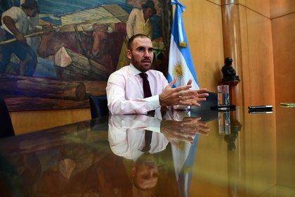 """""""No buscamos fondos nuevos"""", dijo Guzmán sobre el nuevo acuerdo que se negociará con el FMI"""