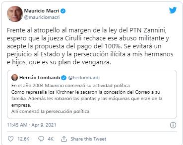 macri twitter