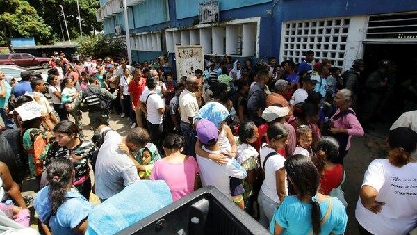 Venezuela sufre una grave crisis sanitaria (REUTERS)