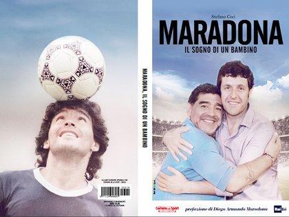 """""""Maradona, el sueño del pibe"""", se llama el libro que escribió sobre su relación con el Diez"""