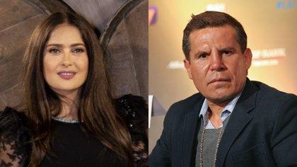 """Salma Hayek Julio y César Chávez habrían tenido un amorío poco después de que ella protagonizara la telenovela """"Teresa"""" (Foto: Cuartoscuro)"""
