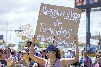 Los organismos feministas destacan el aumento en número, saña e impunidad que tuvieron los femicidios este año en Nicaragua. (Cortesía La Prensa)