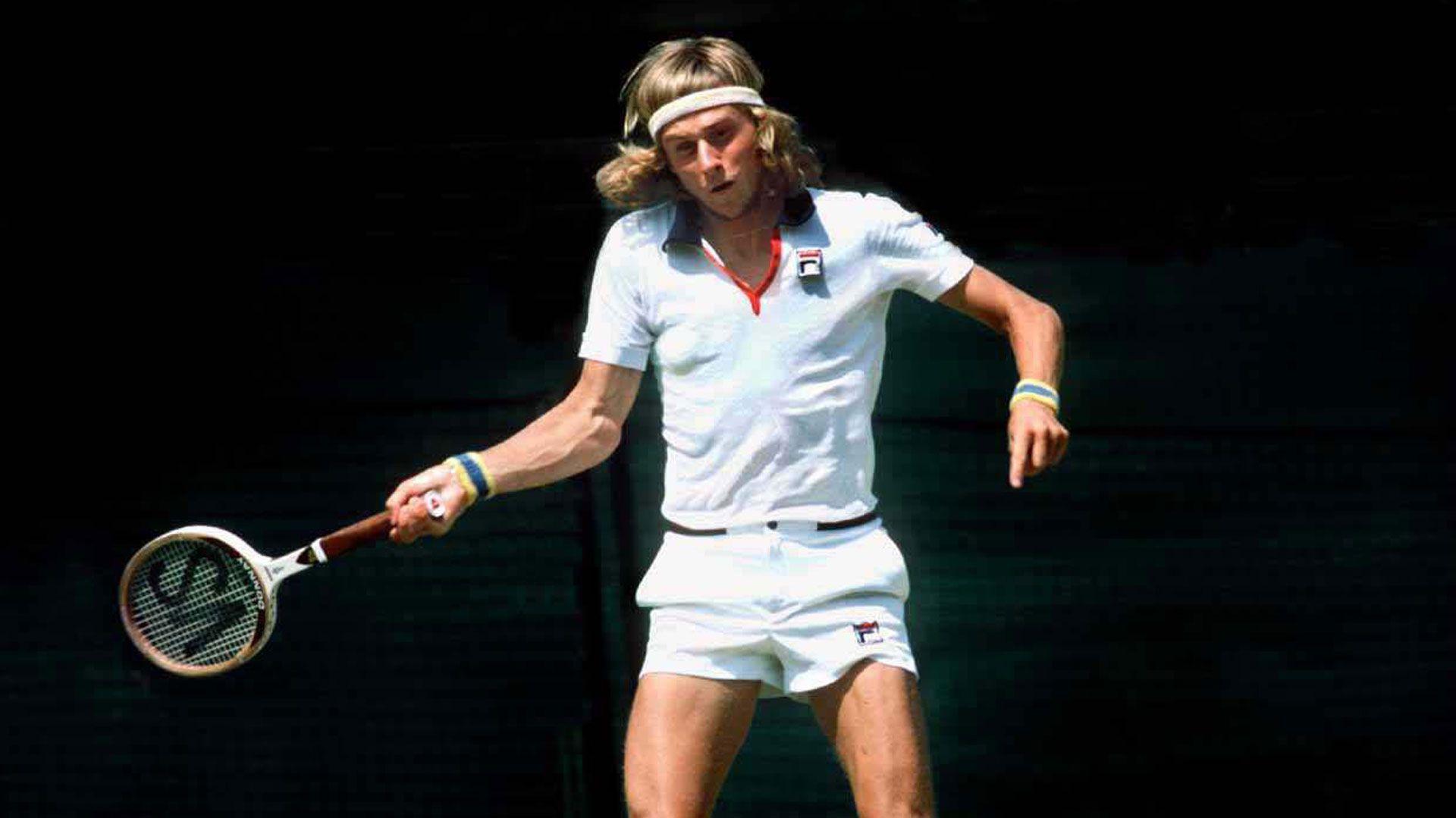 El sueco Björn Borg es una de las grandes leyendas del tenis: fue número uno del mundo y ganó 11 títulos de Grand Slam
