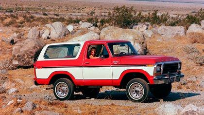 La segunda generación de la Bronco arrancó en 1978.