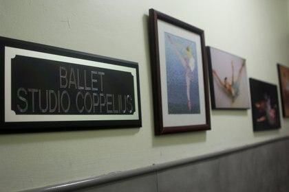 Aspecto de la academia Ballet Studio Coppelius. Ciudad de México, abril 20, 2021.  Foto: Karina Hernández/Infobae