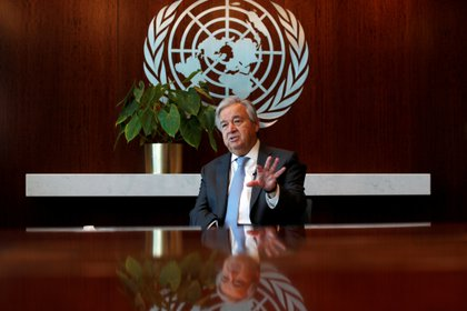 Antonio Guterres, secretario general de la ONU (REUTERS/Mike Segar/Archivo)