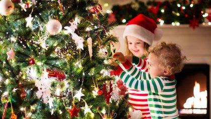 El 8 de diciembre, el día señalado para armar el árbol de Navidad (iStock)