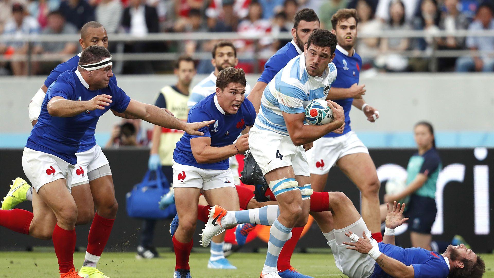 Argentina cayó por 23 a 21 ante Francia, en el marco de la primera fecha del Grupo C del Mundial de Rugby Japón 2019 (REUTERS/Matthew Childs)