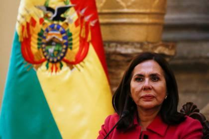 La canciller de Bolivia, Karen Longaric, busca un encuentro con su par mexicano (Foto: REUTERS/David Mercado)