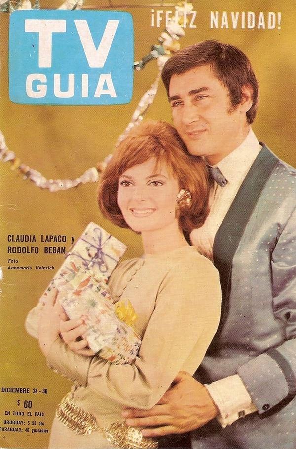 Lapacó y Bebán en la tapa de la revista TV Guía