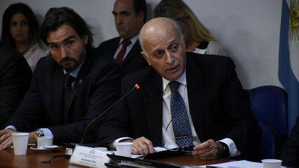 El procurador interino Eduardo Casal (Nicolás Stulberg)