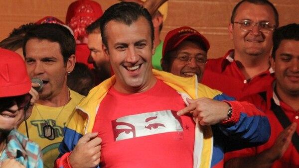 Tareck El Aissami fue vicipresidente de Nicolás Maduro hasta la semana pasada, que fue degradado a Ministro