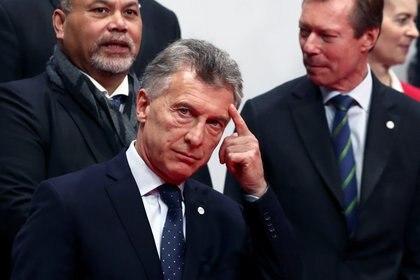 El presidente Mauricio Macri participó de una reunión de líderes en España. (Reuters/Sergio Perez)