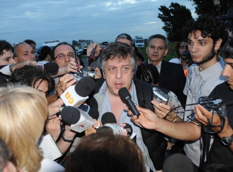 El ministro de Seguridad provincial era el actual fiscal federal Carlos Stornelli (NA)